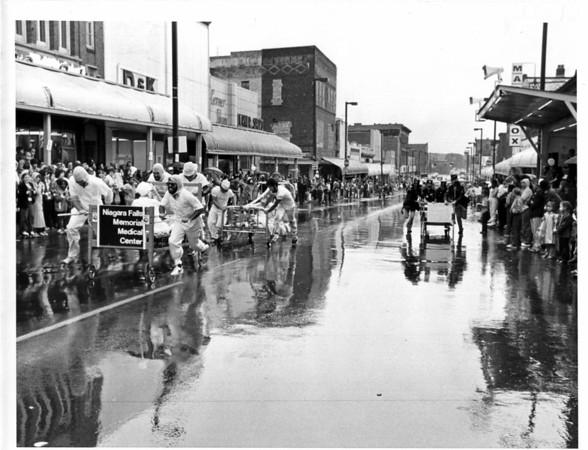Parades - United Way<br /> Niagara Falls Memorial Medical Center at United Way.<br /> Photo - By L. C. Williams - 9/13/1980