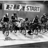 Convention Center - Bookings<br /> Bike Races<br /> Action of 15 year old and over motos races....also a collision after the first jump....both riders got up and finished the race.<br /> Photo - By Robert L. Smith - Buffalo News - 11/19/1983.