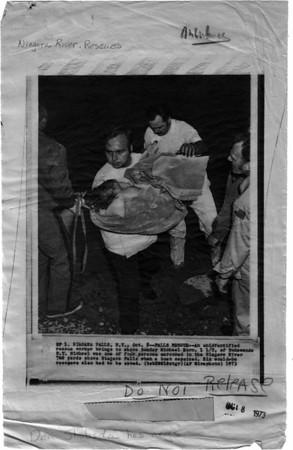 Niagara River, Rescue, Michael Horn - Oct 8, 1973