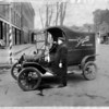 Niagara Gazette 1914 Model T Circulation Department Delivery Truck.
