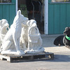 James Neiss/staff photographerLockport, NY - George the dog wonders why he's getting the silent treatment from his companions at Boka Farms on Campbell Boulevard.