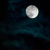 James Neiss/staff photographer<br /> North Tonawanda, NY - A Waxing Gibbous moon, 98% of full, could be seen over the Niagara region early Tuesday morning. The full moon comes out on the 28th.