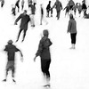 Skating, January, 1964. Photo by William Tague