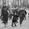 SKating in the Berkshires, Springside Park, January, 1942. Pittsfield