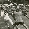 Boys lacrosse, Lenox School  vs. Williston Academy, May, 1965. Photo by Joel Librizzi