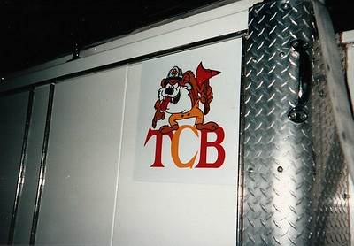 "Engine 38 TCB ""Taking Care of Business"""