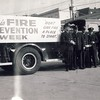 Toronto Pumper 20 crew in front of the new station c.1960.<br /> <br /> From the collection of Jon Lasiuk