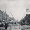 Toronto Fire Scene 348 Queen St W., 1950's<br /> <br /> From the collection of Jon Lasiuk.