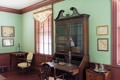 Blennerhassett_006, Harman's Office, Personal Library, & Scientific Laboratory