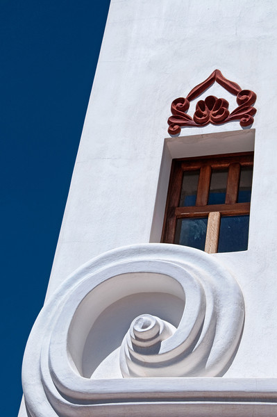 San Xavier Mission near Tucson, Arizona