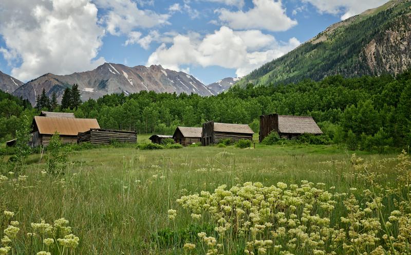 Ashcroft ghost town near Aspen, Colorado