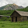 Ashcroft ghost town near Aspen, Colorado