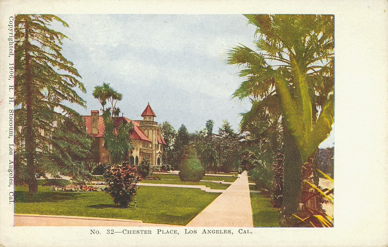 Chester Place, Los Angeles, California.