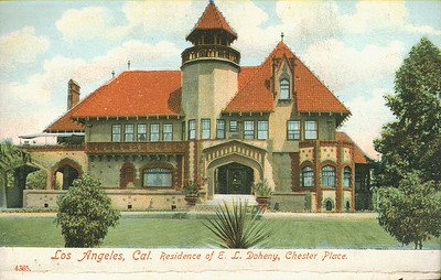 4365. Los Angeles, California Residence of E.L. Doheny, Chester Place