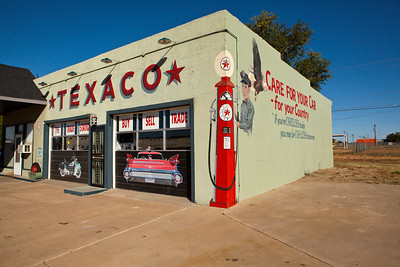Old Texaco Station Tucumcari NM_2804
