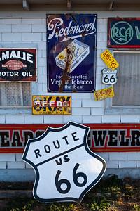 Signs Tucumcari Trading Post Route 66 Tucumcari NM_2657