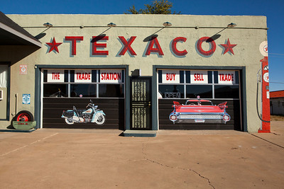 The Trade Station Historic Route 66 Tucumcari NM_2801