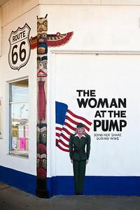 The Woman at the Pump Mural Tucumcari NM_2811