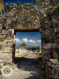 Gate near the Necropolis in Hierapolis