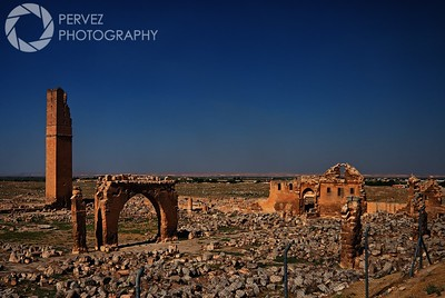 Ruins of the University of Harran in the ancient city of Harran
