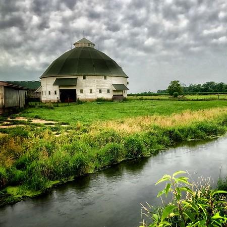 16 Sided Round Barn