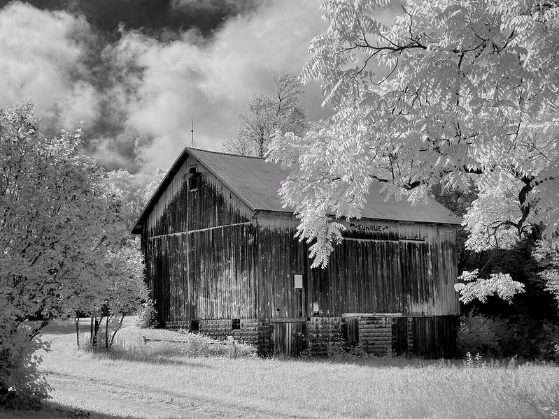 Old Barn in Syracuse, Indiana