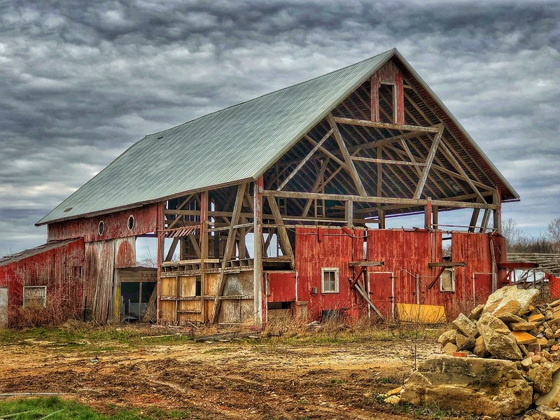 Historic Barn wood being saved