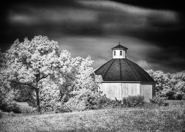 Old Round Barn on Route 13.