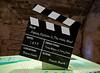'Monty Python' Clapper Board at Doune Castle - 29 March 2015