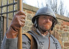 On Guard - Dumbarton Castle - 24 March 2012
