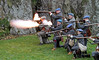 Fraser's Dragoons Open Fire - Dumbarton Castle - 24 March 2012