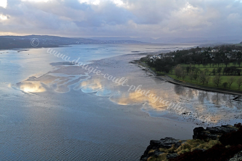 Dumbarton Castle - River Clyde View