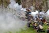 Dragoons Fire - Dumbarton Castle - 24 March 2012