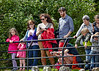 Watching Crowd at Dumbarton Castle - 8 June 2014