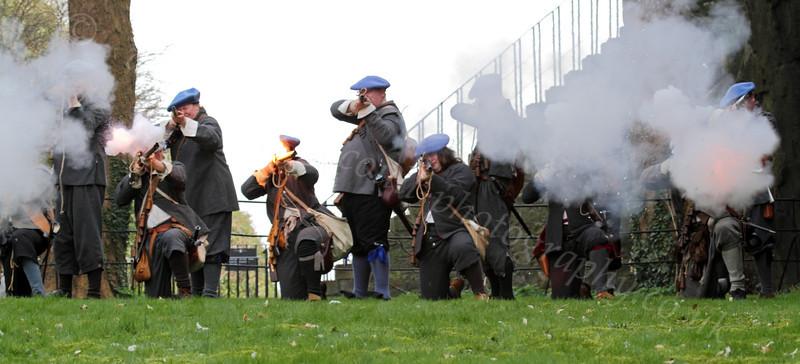 Fraser's Dragoons - Dumbarton Castle - 24 March 2012