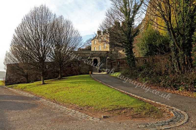 Entrance - Dumbarton Castle