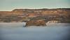 Dumbarton Rock from Langbank - 24 January 2021Foggy