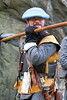 Pikeman - Dumbarton Castle - 24 March 2012