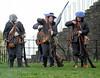 Musket Loading - Dumbarton Castle - 24 March 2012