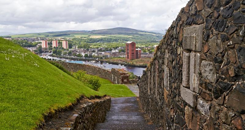 Dumbarton Castle - 8 June 2014