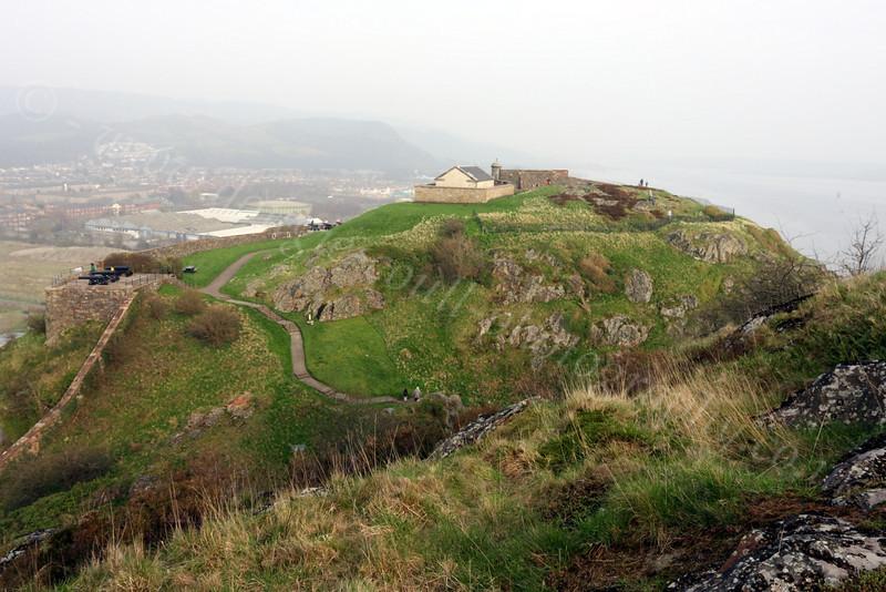 Dumbarton Castle - 24 March 2012