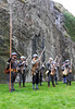 Loading Muskets - Dumbarton Castle - 24 March 2012