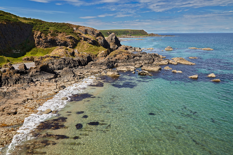 View from Findlater Castle - 6 July 2018
