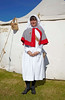Second World War Nurse - Celebration of the Centuries - Fort George - 11 August 2012