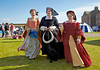 Three Ladies at the Celebration of the Centuries - Fort George - 11 August 2012
