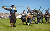 Musketeers at the Celebration of the Centuries - Fort George - 11 August 2012