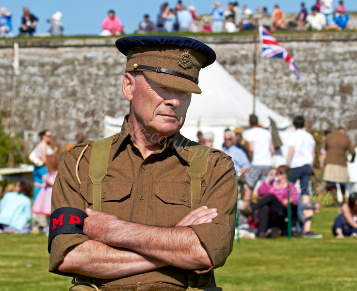 MP at the Celebration of the Centuries - Fort George - 11 August 2012