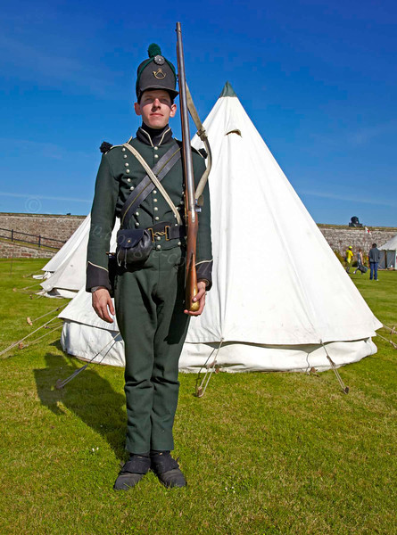 Rifleman - Celebration of the Centuries at Fort George - 11 August 2012