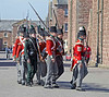 Napoleonic Sodiers at the Celebration of the Centuries - Fort George - 11 August 2012