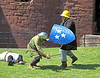 Sword Fight - Bothwell Castle - 27 May 2012